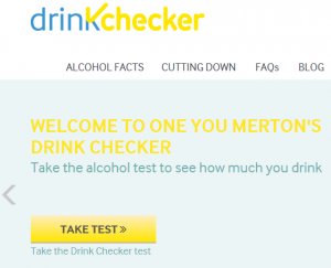 One You Merton Drink Checker